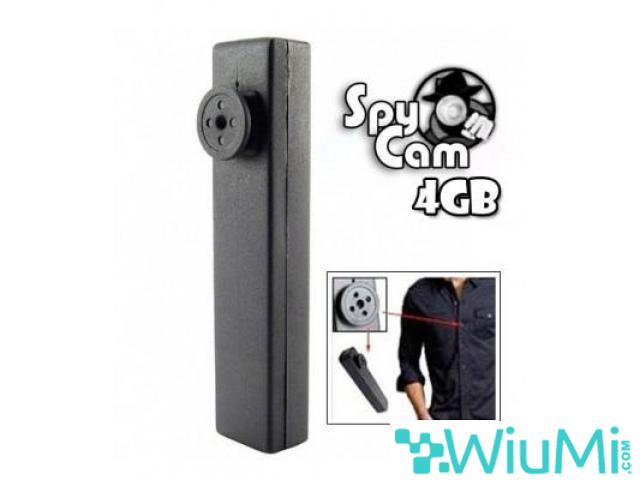 Spy Button with integrated Hidden Camera - wiayo.com - 1/1