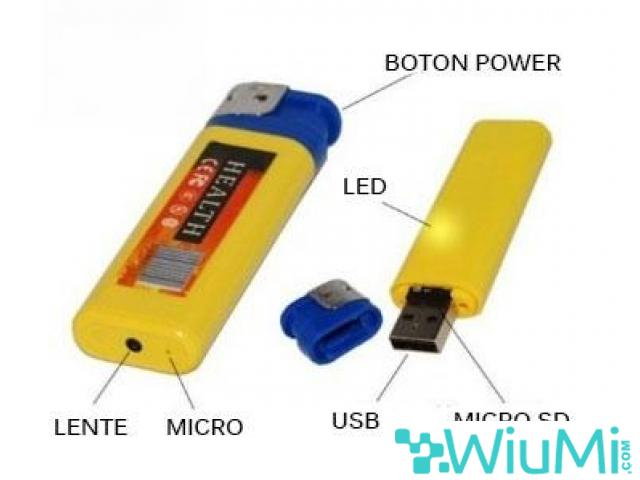 LIGHTER SPY CAM -wiayo.com - 1/2