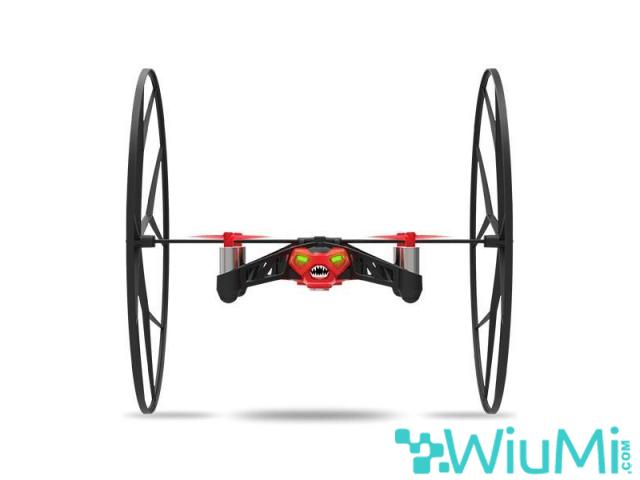 PARROT MINIDRON RED ROLLING SPIDER CAMERA - wiayo.com - 1/5