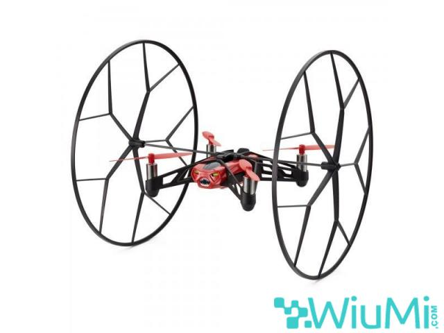PARROT MINIDRON RED ROLLING SPIDER CAMERA - wiayo.com - 2/5
