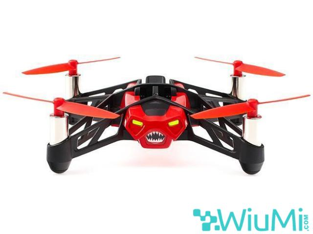 PARROT MINIDRON RED ROLLING SPIDER CAMERA - wiayo.com - 3/5