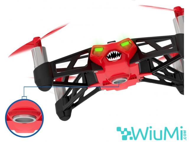 PARROT MINIDRON RED ROLLING SPIDER CAMERA - wiayo.com - 4/5