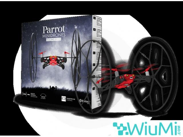 PARROT MINIDRON RED ROLLING SPIDER CAMERA - wiayo.com - 5/5