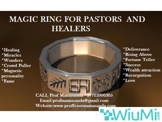 Pastors  Magic Ring For Performing Miracles and Wonders +27762900305 - 4/4