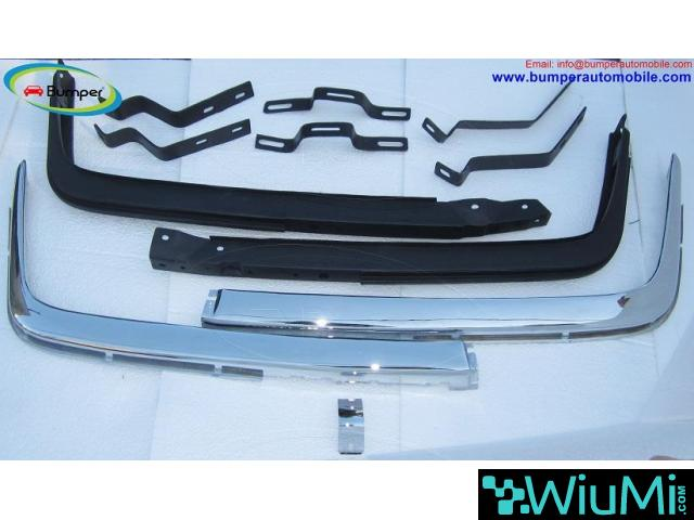 Mercedes W107 Chrome bumper type Euro by stainless steel - 1/5