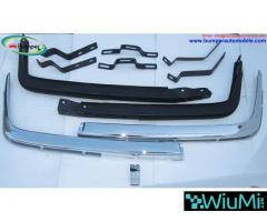 Mercedes W107 Chrome bumper type Euro by stainless steel - Image 1/5