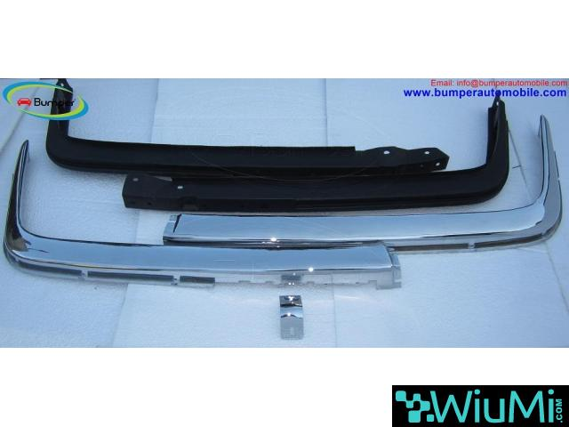 Mercedes W107 Chrome bumper type Euro by stainless steel - 2/5