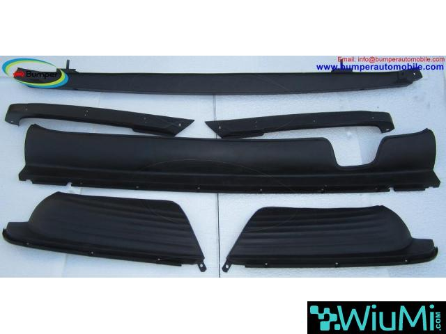 Mercedes W107 Chrome bumper type Euro by stainless steel - 3/5