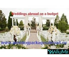 Weddings abroad on a budget