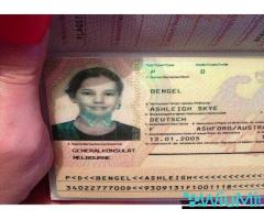 Registered Travel Passport, Driving License,ID Cards,Accademic Certificates, Visa Card,