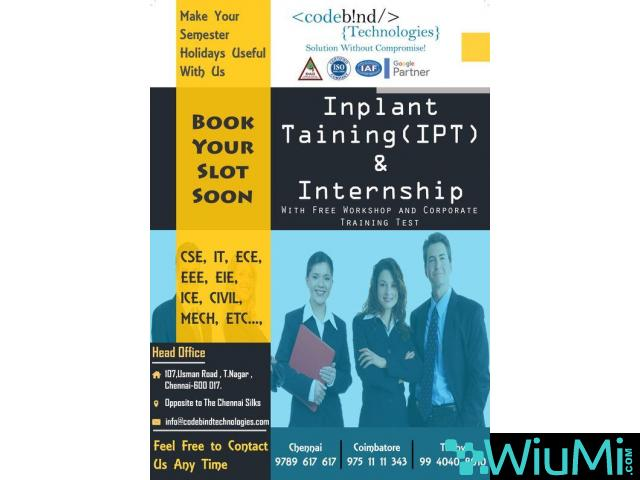 best internship in chennai - 1/1