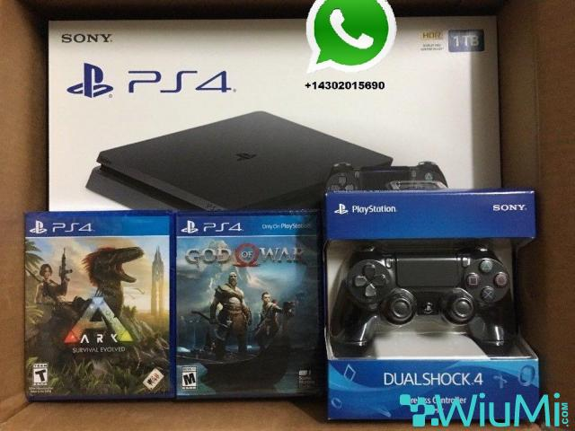 Console PS4 1TB + 2dualshock - 1/1