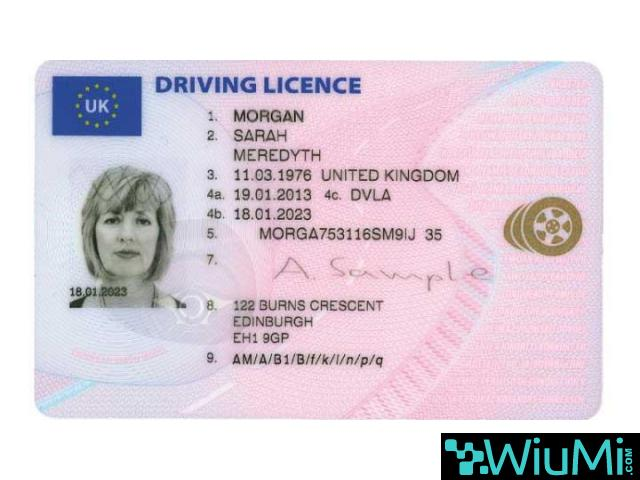 Buy and sell passports, license and ID - 3/4