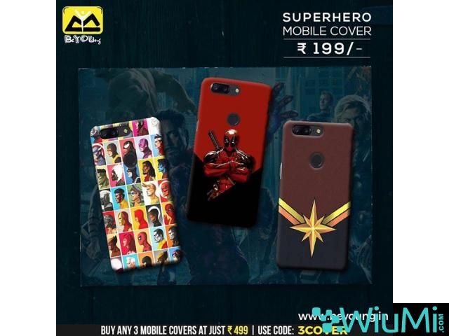 Online Shopping For T-shirts and Mobile Covers-Beyoung - 4/5