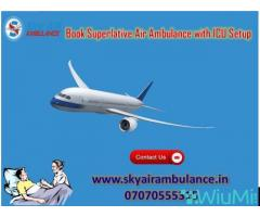 Get Cheap and Best Emergency Air Ambulance Service in Jamshedpur