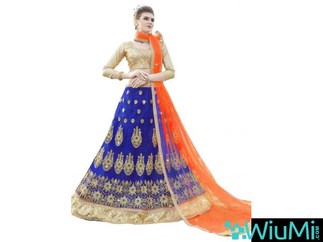 Visit Mirraw To Shop Party Lehenga In Lowest Cost - 1/1