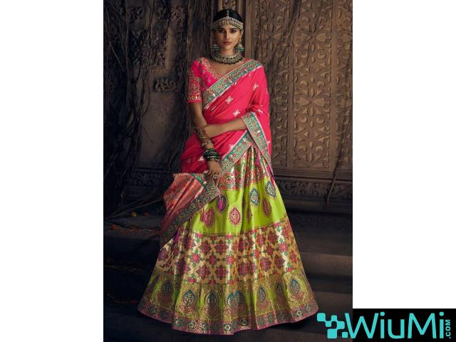 Shop Ethnic Lehenga Choli From Mirraw At Best Prices - 1/4