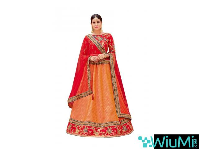 Shop Ethnic Lehenga Choli From Mirraw At Best Prices - 3/4