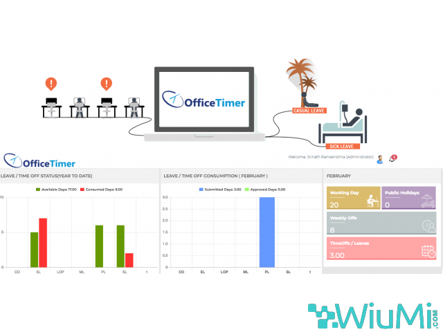 Time Tracking Software | Timesheet Software | OfficeTimer - 4/5