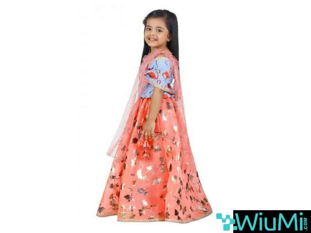 Best Offers On Girls Lehenga Choli Available At Mirraw - 2/3