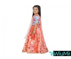 Best Offers On Girls Lehenga Choli Available At Mirraw