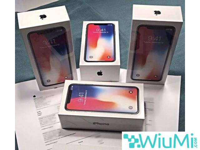 Apple iPhone X  256GB - Silver Unlocked - 1/3
