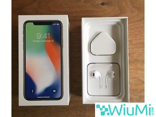 Apple iPhone X  256GB - Silver Unlocked - 2/3