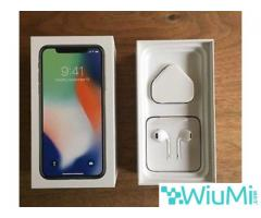 Apple iPhone X  256GB - Silver Unlocked