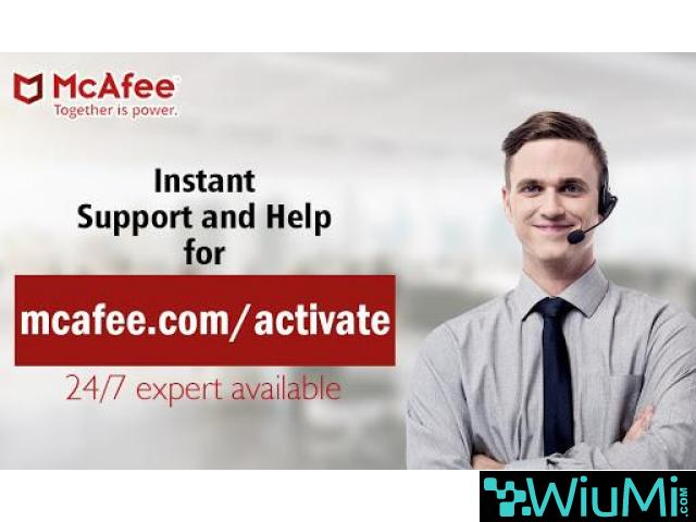 How to Activate your mcafee retail card online - 2/3
