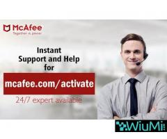 How to Activate your mcafee retail card online