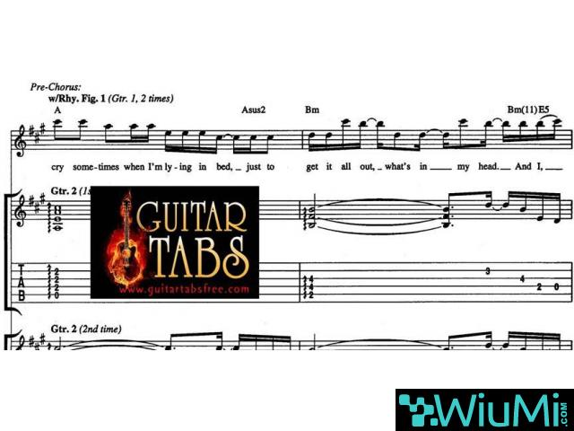 Guitar Tabs, Scales, Song books, Chords, Sheet Music, Lyrics Free Downloads Pdf - 1/2