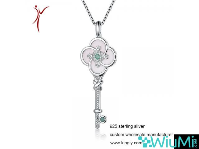 Custom wholesale necklaces 925 sterling silver jewelry - 2/3