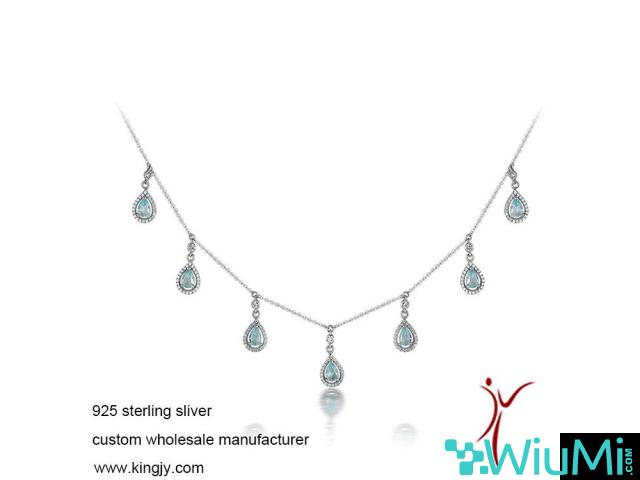Custom wholesale necklaces 925 sterling silver jewelry - 3/3