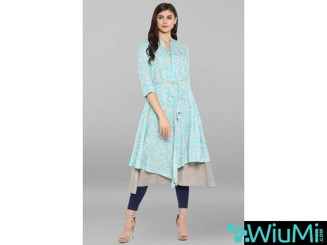 Designer Collections of Long Kurtis Online At Mirraw - 4/4