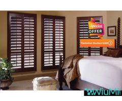 Plantation shutters winter offer in Melbourne