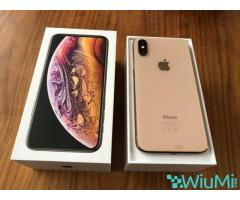 Apple iPhone XS 64GB = $450USD  , iPhone XS Max 64GB = $480USD ,iPhone X 64GB = $350USD