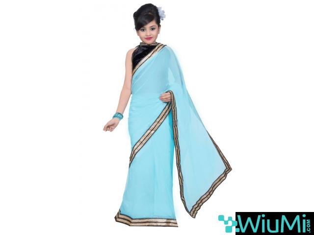 Get Online Kids Saree In Least Cost From Mirraw - 2/3