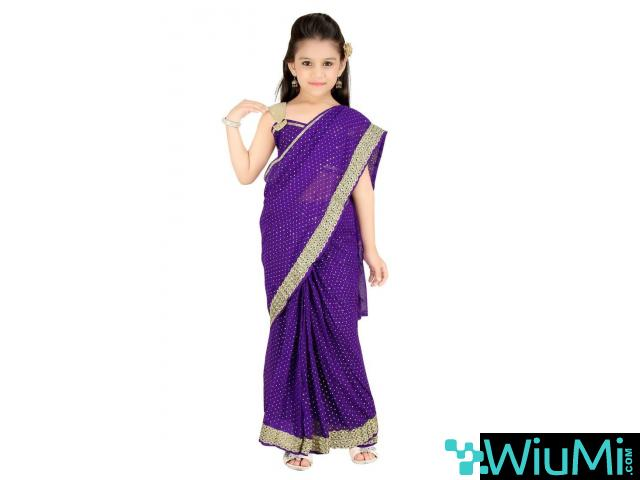 Get Online Kids Saree In Least Cost From Mirraw - 3/3