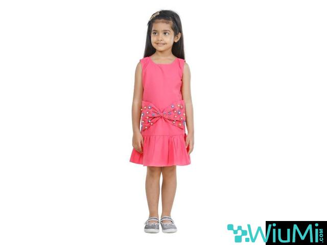 Buy kids frock online from Mirraw with lowest cost. - 1/3