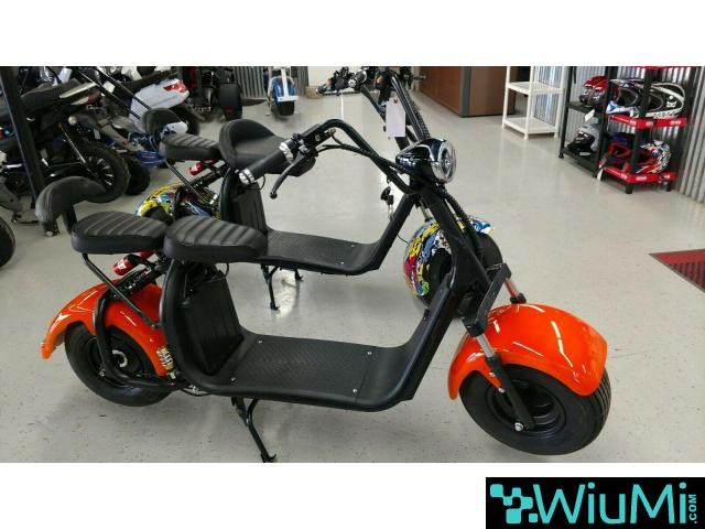 For sale Citycoco 2000w Electric Scooter Big Wheel - 1/2