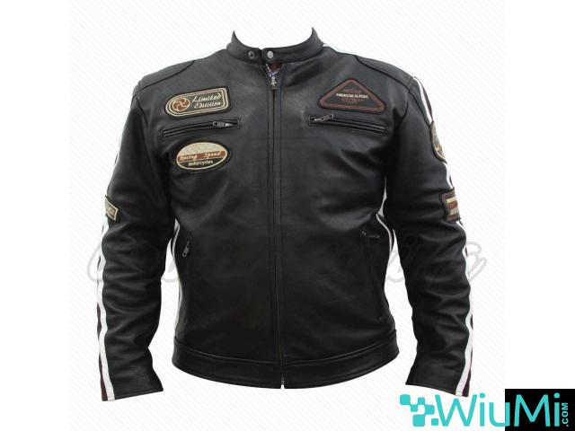 leather and textile jackets - 3/5