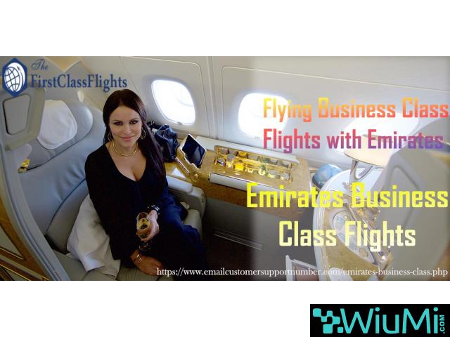 Make Your Journey More Exciting With Emirates Business Class Flights - 1/2