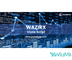 Buy your own Wazirx Clone Script from Pulsehyip
