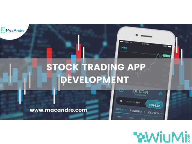 Stock Trading Software Development | Stock Exchange App | MacAndro - 1/1