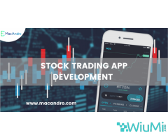Stock Trading Software Development | Stock Exchange App | MacAndro