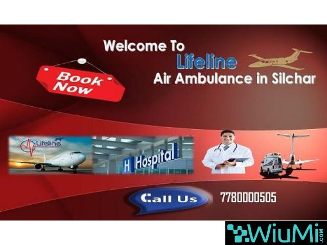 Lifeline Air Ambulance in Silchar Transfer Patient In ICU Environment with Doctors - 1/1