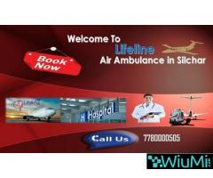 Lifeline Air Ambulance in Silchar Transfer Patient In ICU Environment with Doctors