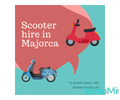 Best Scooter hire in Majorca at Mister Scooter