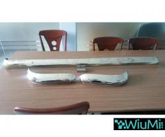 Ford Escort MK1 stainless steel bumpers