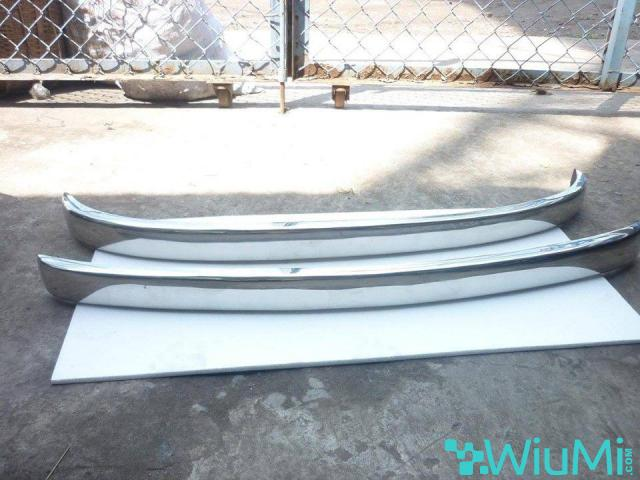 Fiat 500 stainless steel bumpers - 1/1
